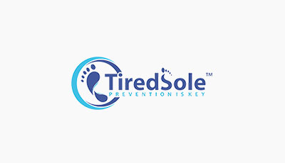 TiredSole ™     We did it our logo is Trade Marked
